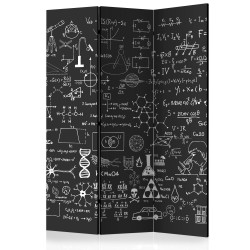 Room Divider  Science on Chalkboard [Room Dividers]