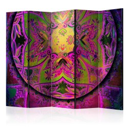 Room Divider  Mandala Pink Expression II [Room Dividers]