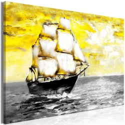 Canvas Print  Spring Cruise (1 Part) Wide Yellow