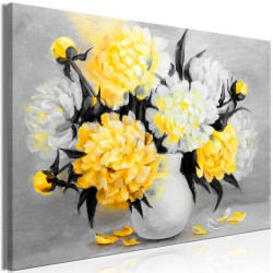 Canvas Print  Fragrant Colours (1 Part) Wide Yellow