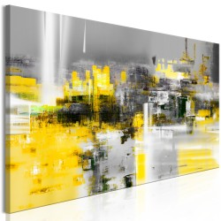 Canvas Print  Yellow Andromeda (1 Part) Narrow