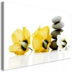 Canvas Print  Calm Mallow (1 Part) Yellow