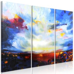 Canvas Print  Colourful Sky (3 Parts)