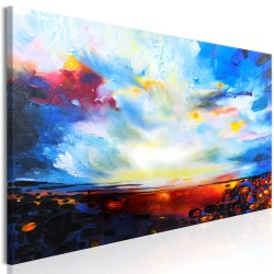 Canvas Print  Colourful Sky (1 Part) Narrow