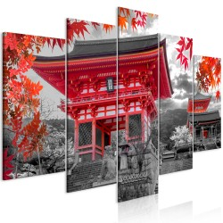 Canvas Print  Kyoto, Japan (5 Parts) Wide