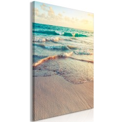 Canvas Print  Warm Morning (1 Part) Vertical