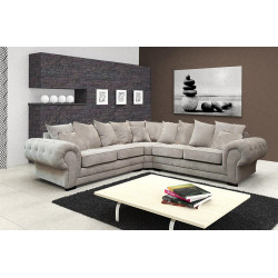 Corner sofa VIVA R with cushions