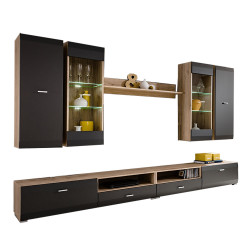 Wall Unit CLIFLAND Entertainment TV Stand FAST DELIVERY