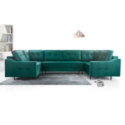 U-shaped Aruba U sofa with sleeping function and storage (289 cm)
